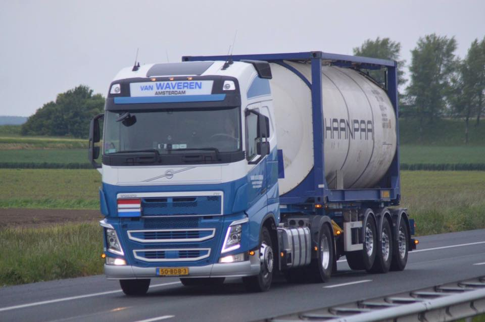 Vacature tankcontainer chauffeur